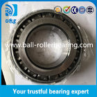 Chrome Steel Taper Roller Bearings , Single Row Tapered Wheel Bearings