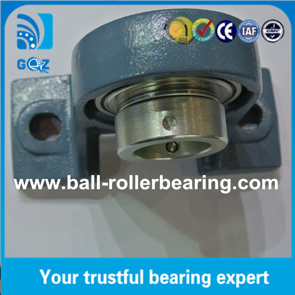 High Rotation Speed Rubber Seal Bearing UC210 Steel Cage Open ball bearings