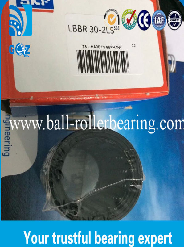 LBBR 30-2LS Linear Ball Bearings , Round Linear Bearings With Nylon Cage