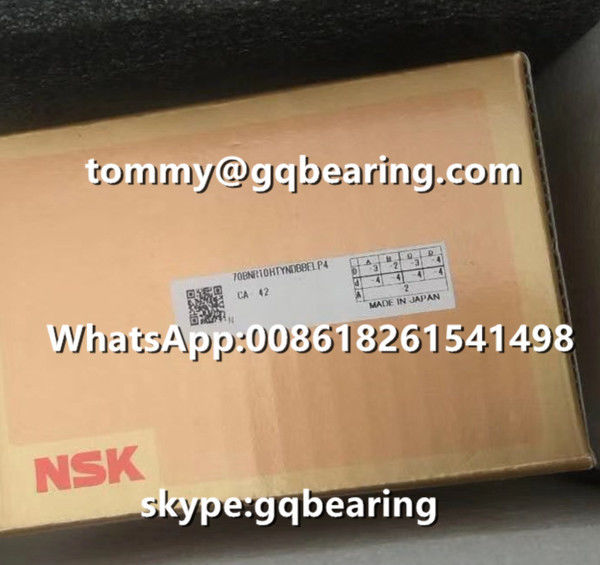 Ceramic Material Balls 18 degree Contact Angle NSK 70BNR10HTYNDBBELP4 Thrust Angular Contact Ball Bearing