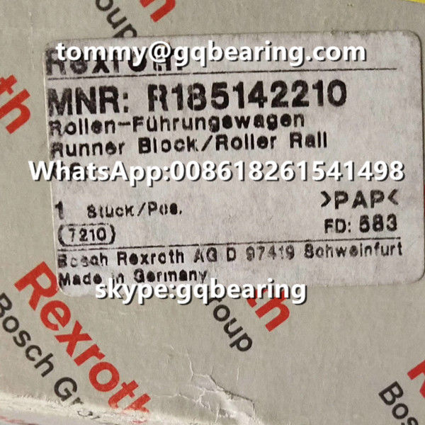 Rexroth R185142210 Steel Material Wide Flange Linear Block Size 45 120x150x51