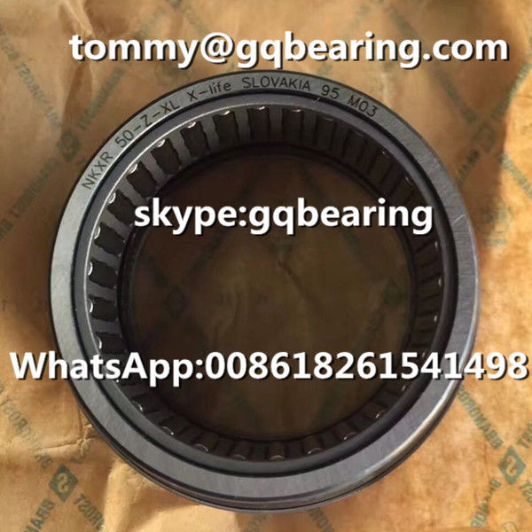 Gcr15 Steel Material INA NKXR50-Z-XL Needle Roller / Axial Cylindrical Roller Bearing