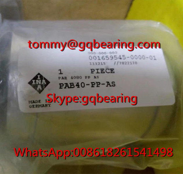 Gcr15 steel Material INA PAB40-PP-AS Linear Plain Bearing 40 x 62 x 80 mm