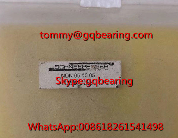 Corrossion Resistant Steel Material SCHNEEBERGER NDN 05-10.05 Micro Frictionless Table NDN05-10.05 Linear Slide Bearing
