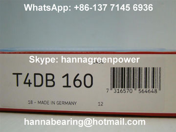 얇은 유형 T4DB160 무거운 짐 테이퍼 롤러 베어링 160x220x32mm